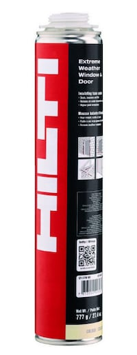 Dow/Hilti insulating foam (this wkend Dow only 8$ per cartridge) Mississauga