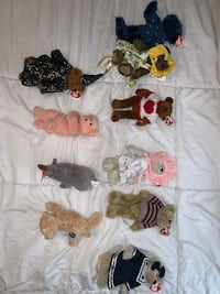 TY Collectible Beanie Babies (qty 10)