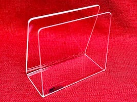 5-Mitchell Plastics & Casegoods Clear Acrylic Blood Bag Holders