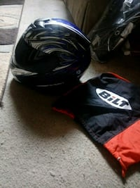 BILT Motorcycle Helmet with Bluetooth.Worn only tw Baton Rouge, 70810