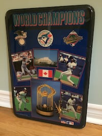 92 World Series - blue jays - clock Burlington, L7R 2B7