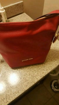 red and black leather bag Greenville, 29605