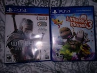 The Witcher Wild Hunt & Little big planet 3 (25 for both) Lancaster, 17603