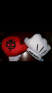 """Manny """"PACMAN"""" Pacquiao and Mickey Mouse Pillows Toronto"""