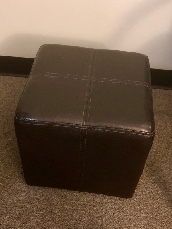 Marvelous Leather Ottoman Ocoug Best Dining Table And Chair Ideas Images Ocougorg