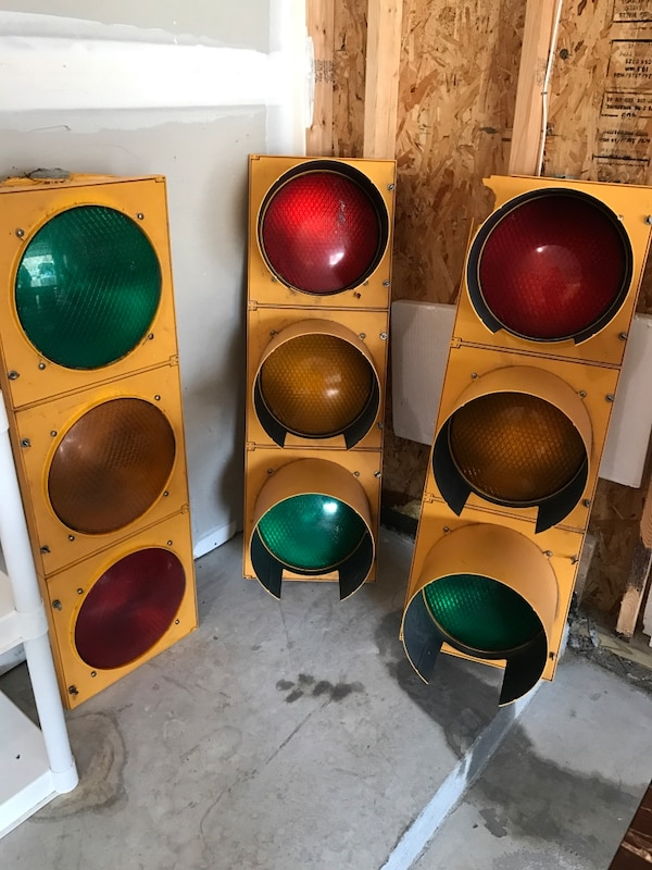 Traffic Light For Sale >> Three Traffic Lights