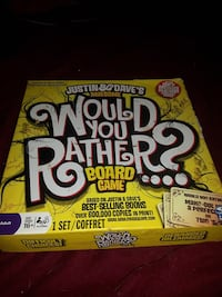 Would You Rather board game Edmonton