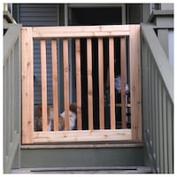Wooden gate with hardware Maple Ridge, V2W 1W8