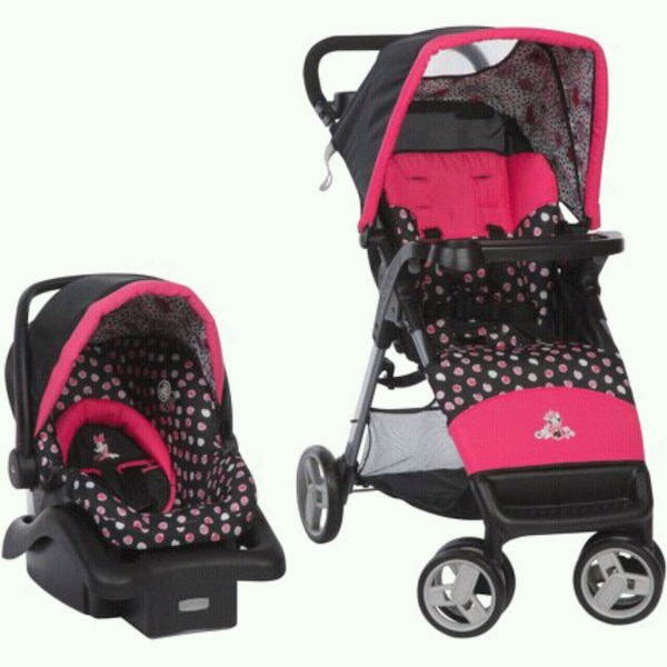 Used Minnie Mouse Car Seat Stroller Combo For Sale In Lindale Letgo