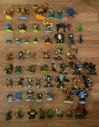Wii Skylanders Giants lot of 59 with accesories Chantilly, 20151