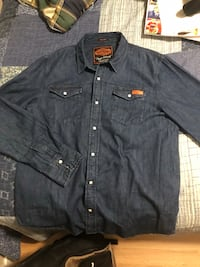 Superdry Denim Button Up  Calgary, T2L 1J6