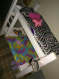 "Hand made 18"" doll bunk bed  249 mi"