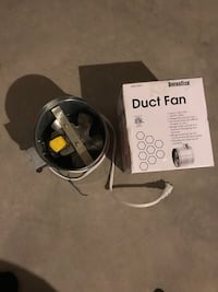New duct fan in box and one used with out box Pickerington, 43147