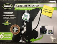 """""""Brand New""""Slime cordless Inflator (Model 40057) Wethersfield, 06109"""