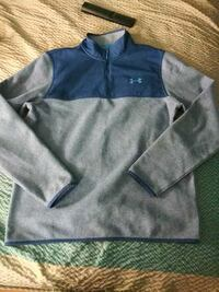 blue and gray Under Armour zip-up jacket West Des Moines, 50266