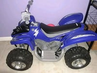 blue and black ATV ride-on toy Brentwood, 11717