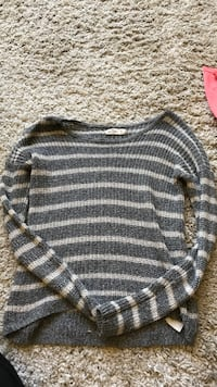 gray and white striped sweater Granite Bay, 95746