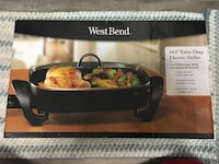 "BRAND NEW Electric Skillet - WestBend 14.5"" Extra Deep Derwood, 20855"