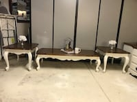 Farmhouse coffee table set with 2 end tables  Mesa, 85205