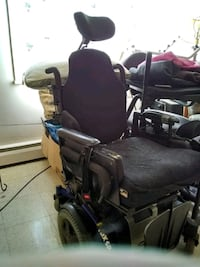 Invacare TDX SP power chair new seat new backrest