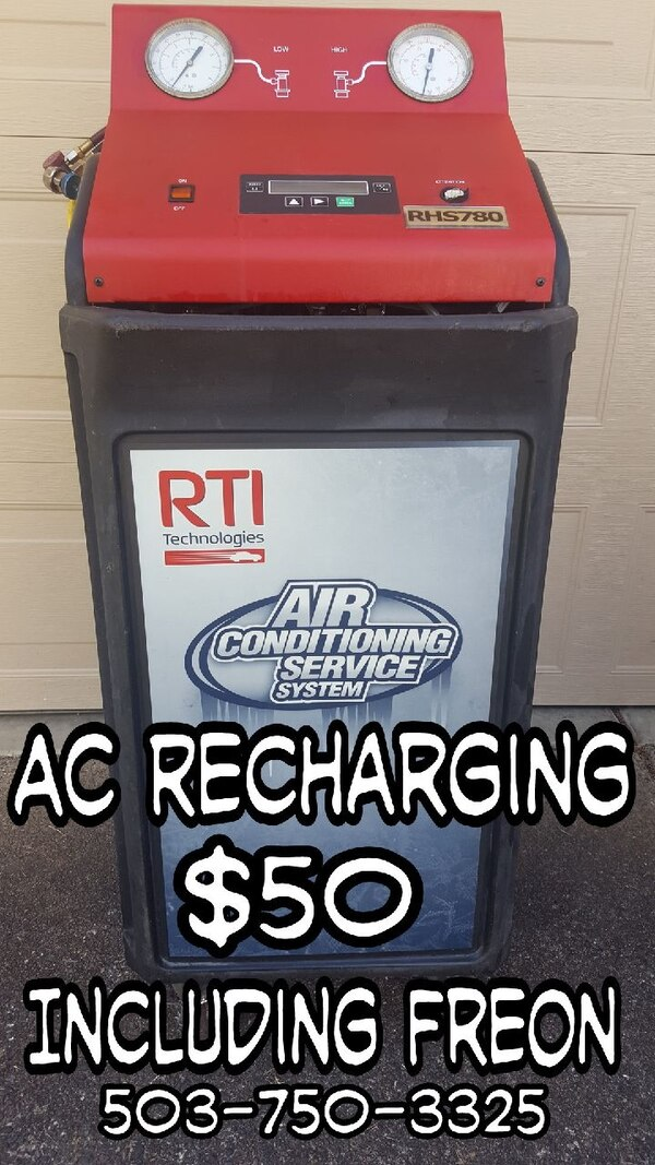 AC Recharging for your car or truck