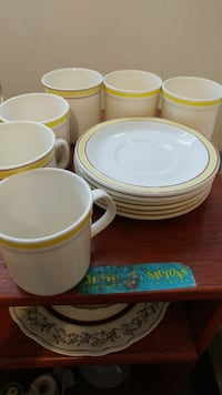 Cups and saucers  Guelph, N1E 2Z6