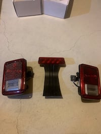2016 Jeep Wrangler headlight and taillights Bradford, L3Z 3B9