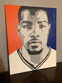 Kevin Durant Hand Painted Canvas
