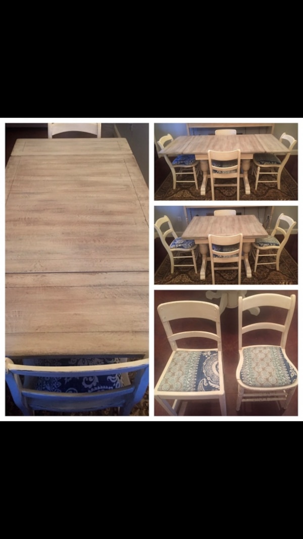 Used Refinished Antique Table And Chairs For Sale In Little Rock Letgo