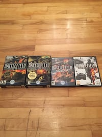 Battlefield bad company 2, 1942, vietnam pc games jeux Montreal, H1Z 4N9