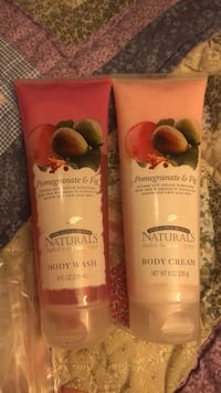Naturals body wash/ body lotion pomegranate &Fig 226 gem both for 8$