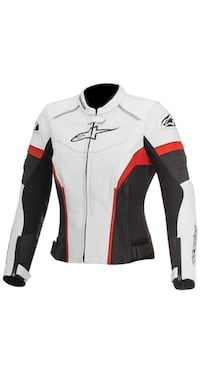 New Alpinestars R Perforated Women's Street Motorcycle Jacket Size 42