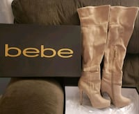 Bebe -Rihanna suede boots, size 6 Silver Spring, 20910