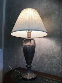 Very beautiful copper metal made lamp in excellent condition.  Brampton, L7A