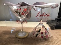 Lolita cocktail glasses - 2 Fairfax, 22033