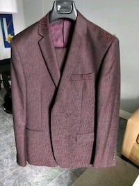 Red versace suit size 38 us Toronto