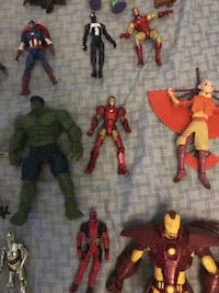 Marvel, Starrare Wars, toy story, Avatar and much more toys Riverside, 92504