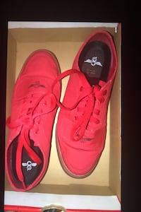 Red creative reaction shoes only used twice no stains ! Los Angeles, 90011