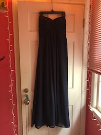 Women's navy blue strapless prom dress Menands, 12204
