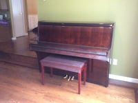 Brown upright piano like new condition. Paid 4k and kids only took four lessons Smithtown, 11767