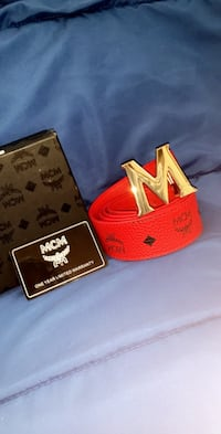 Red MCM Belt Indianapolis, 46237