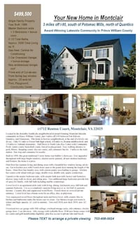 HOUSE For Sale 5 BR 3.5BA Montclair