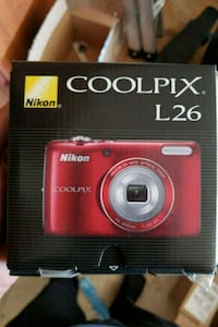 red Nikon Coolpix point-and-shoot camera Los Angeles, 90049