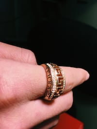 Versace Gold classic ring