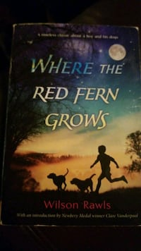Book-Where the red fern Grows Cumming, 30041