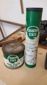 2 Vintage Quaker State Oil Cans  Knoxville, 37917