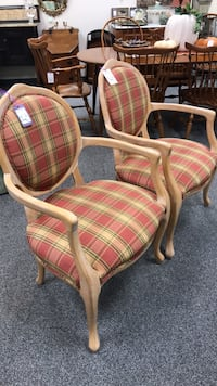 Upholstered Side Chairs - $115 Each Hampton, 03842