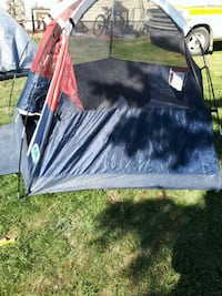black and white camping tent Calgary, T2A 0N7