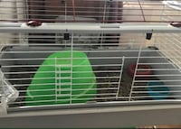 White and green pet cage Toronto, M1J 1G3