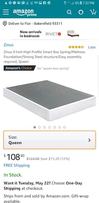 "New in the Box Queen 9"" Boxspring  Bakersfield, 93311"